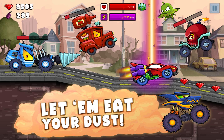 Car Eats Car 2_5931 Car Used car reviews, Car, Games