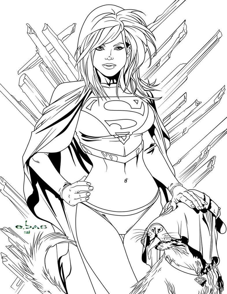 Supergirl and Krypto by frostdusk.deviantart.com on @DeviantArt ...
