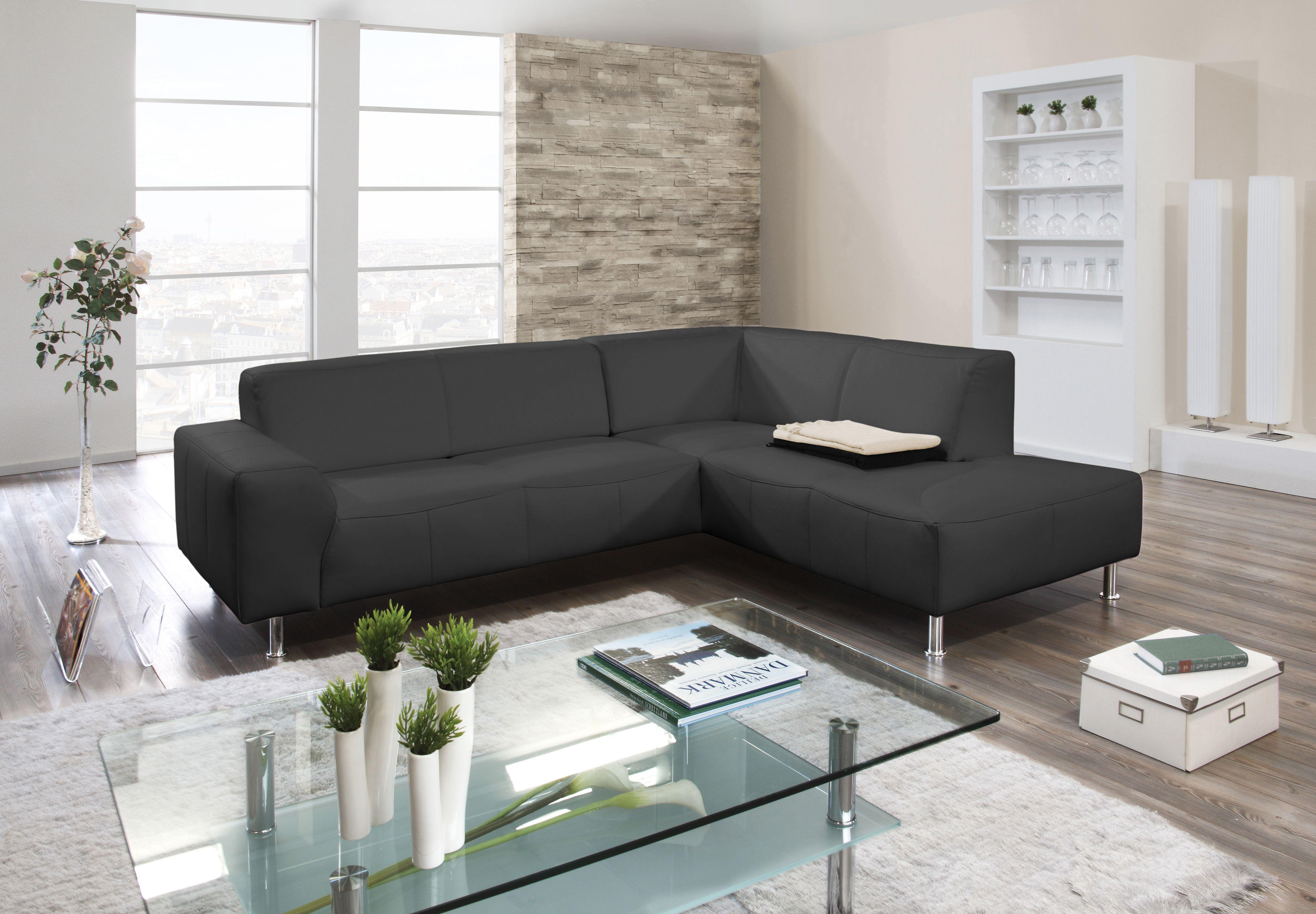Moderne zwarte design zetel stijlvolle zetels pinterest for Design zetel