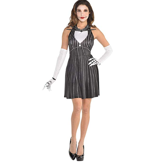 Jack Skellington Halloween Costume for Women Click here