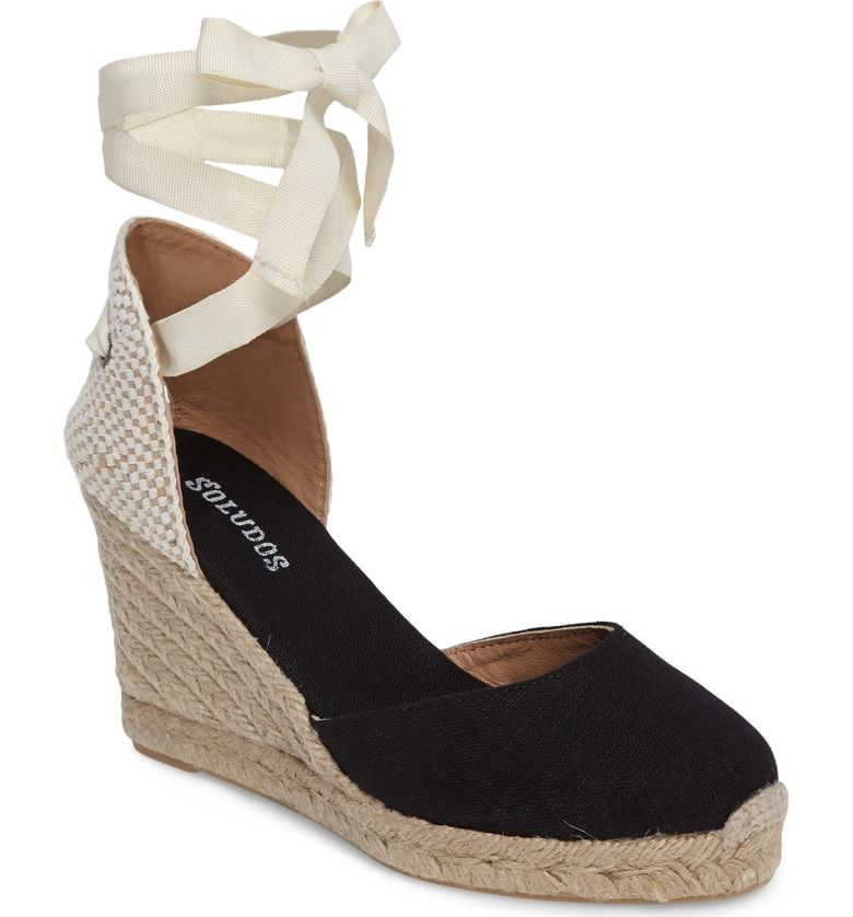 8ce76623f93 Free shipping and returns on Soludos Wedge Lace-Up Espadrille Sandal ...