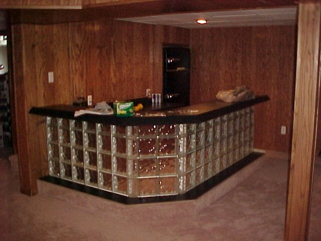 Glass Block Bar | Glass Block Professionals | Photos