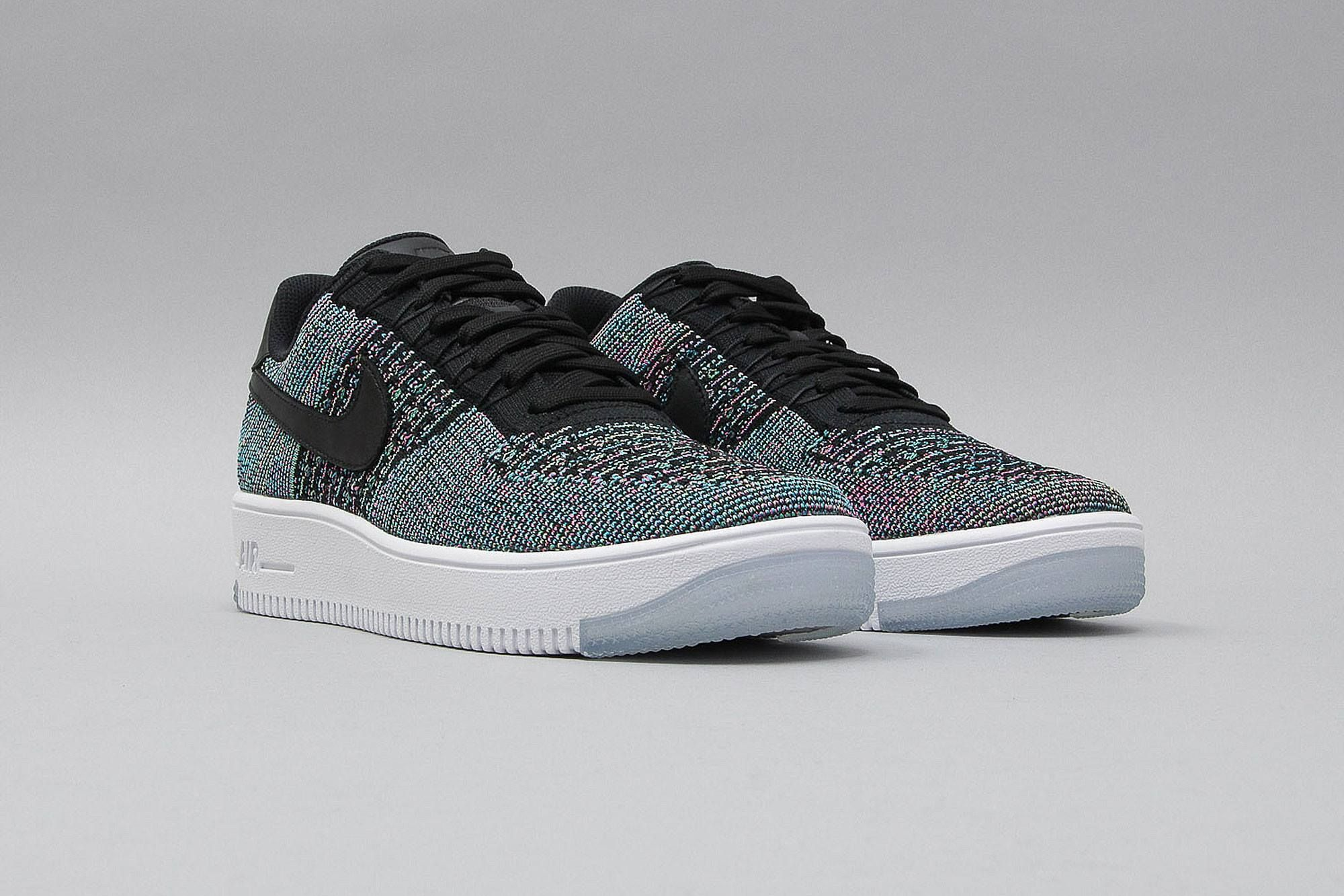 bd964700752 ... cheap nike air force 1 ultra flyknit low black blue lagoon voltage  green 817419 002 blau