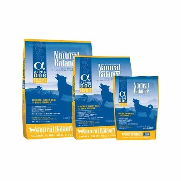 Natural Balance Dog Food Coupons >> Natural Balance Alpha Chicken Turkey Duck Dog Food