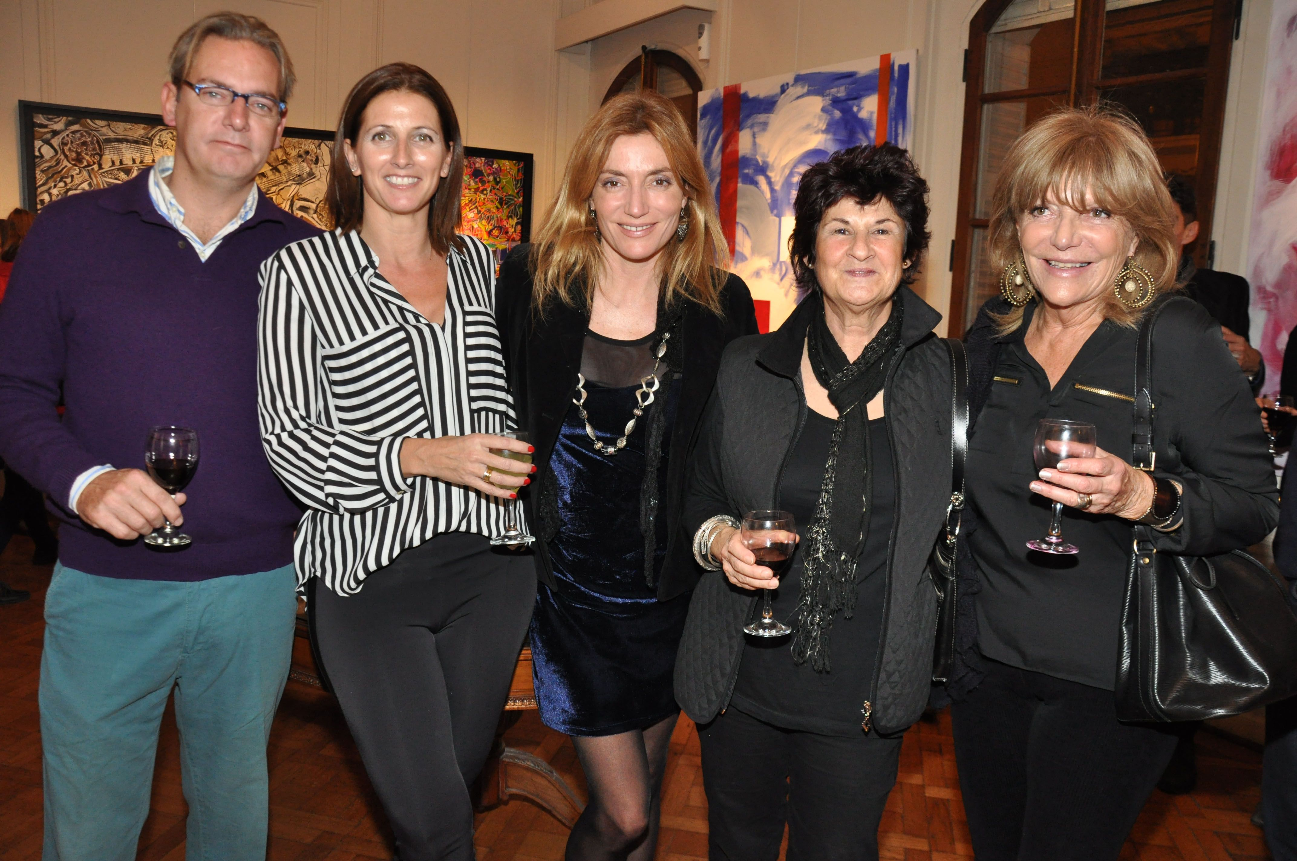 Sebastián Airaldi, Valeria Diz, Carmen Darldalla