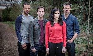 And then there were four … OT Fagbenle, Lee Ingleby, Sarah Solemani and Tom…
