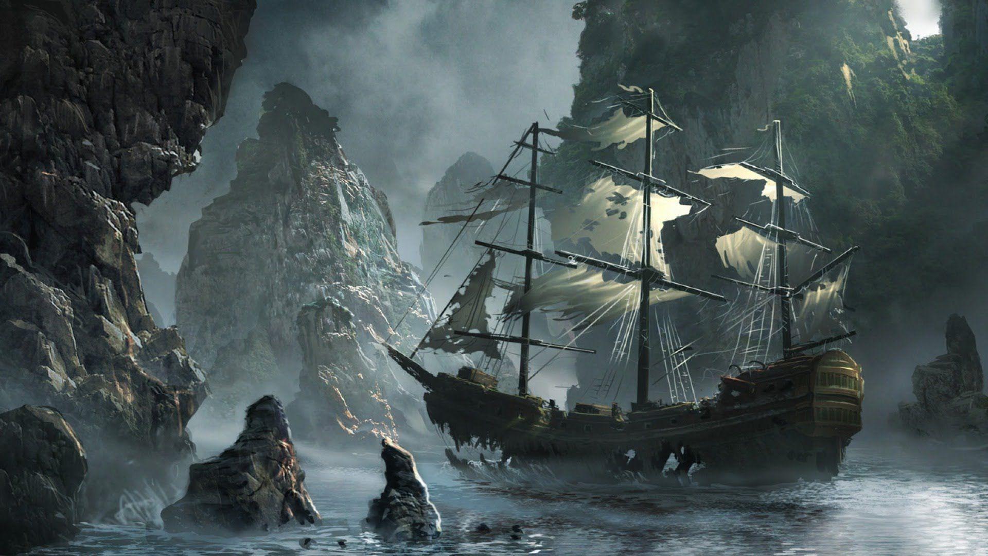Pirate Music - Pirate Cove   Ship In A Bottle ⚓   Boat art