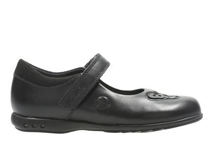 Clarks Trixi Rose Inf - Black Leather