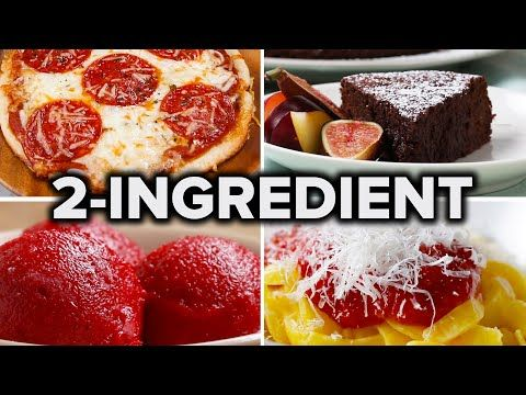 (496) 5 Easy 2-Ingredient Recipes - YouTube