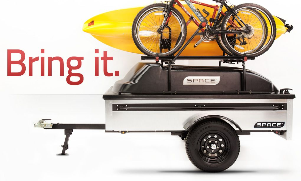 Nifty Lightweight Trailer With Great Capabilities  It U0026 39 S Called Space Trailer  Great Tow