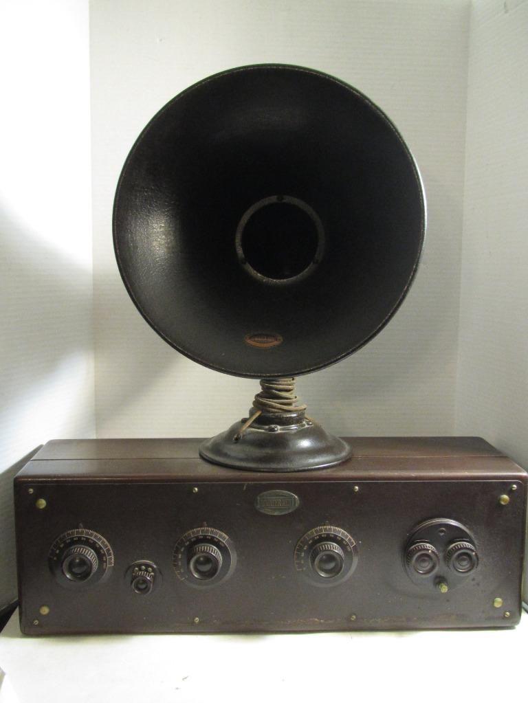 Ebayitmantique1920satwaterkentmodel20radio. Ebayitmantique1920s. Wiring. 1920s Zenith Tube Radio Schematics At Scoala.co