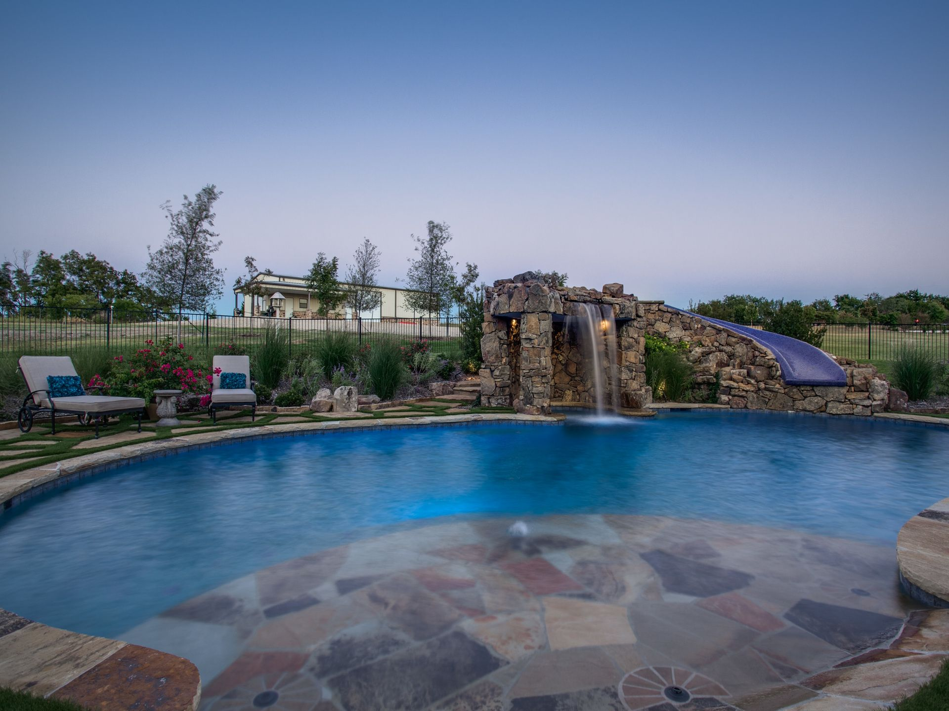 Stone Oasis Luxury Pool Design Custom Pool Designs Grotto Pool  # Muebles Joseph And Pool