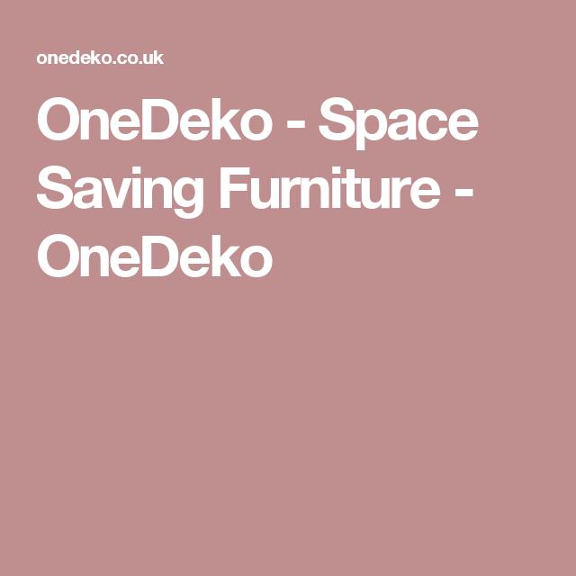 OneDeko - Space Saving Furniture - OneDeko
