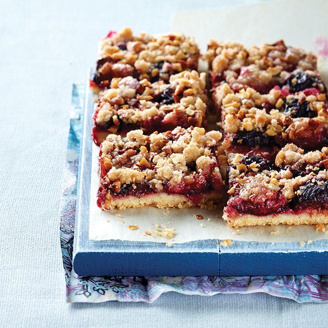 сливовый пирог (plum crumble cake)