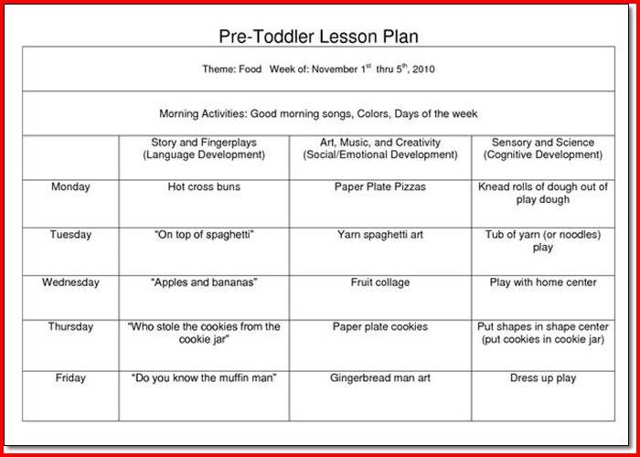 Creative Curriculum For Preschool Lesson Plan Lesson Plans Pinterest