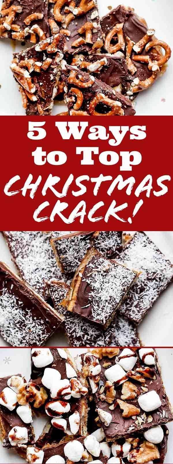 5 Ways to Top Your Christmas Crack! | SimplyRecipes.com