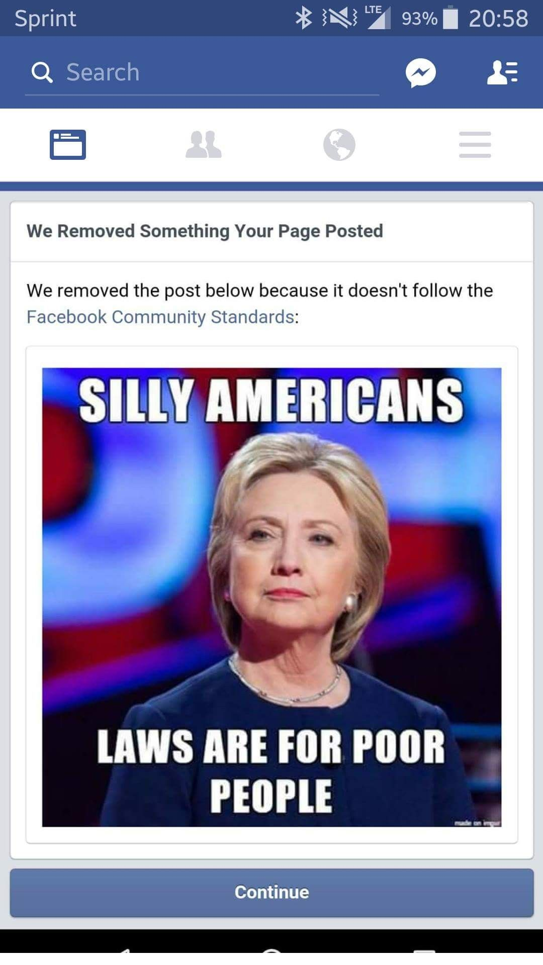 Facebook Deletes Meme Page Mocking Hillary Clinton | Group ...