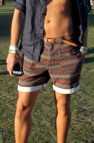 Shorts Coachella Festival EthnicPrint EstampaÉtnica