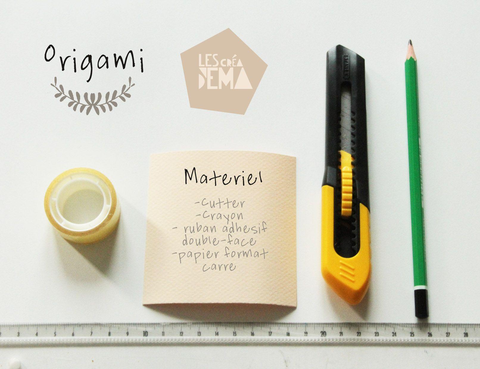 Origami petites gouttes de papier by *Les Créa d'Ema*