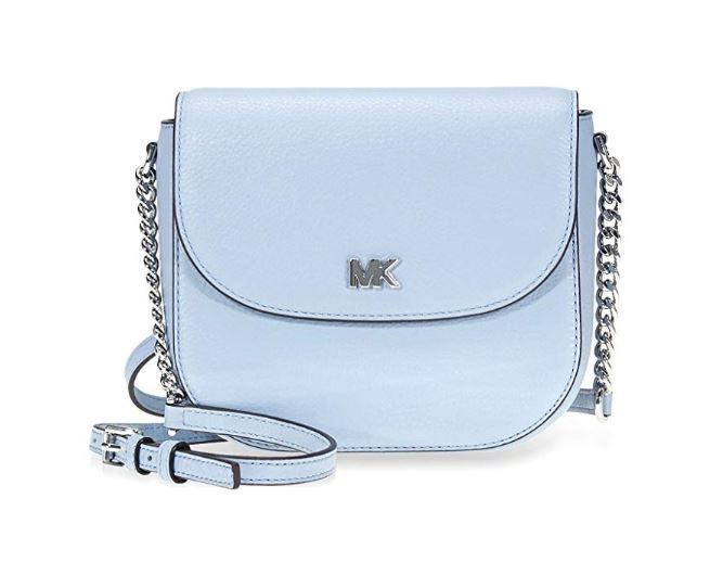 c517323cbab79 MICHAEL Michael Kors Mott Mini Pebbled Leather Crossbody 32T8GF5C0L-187 …  in 2019
