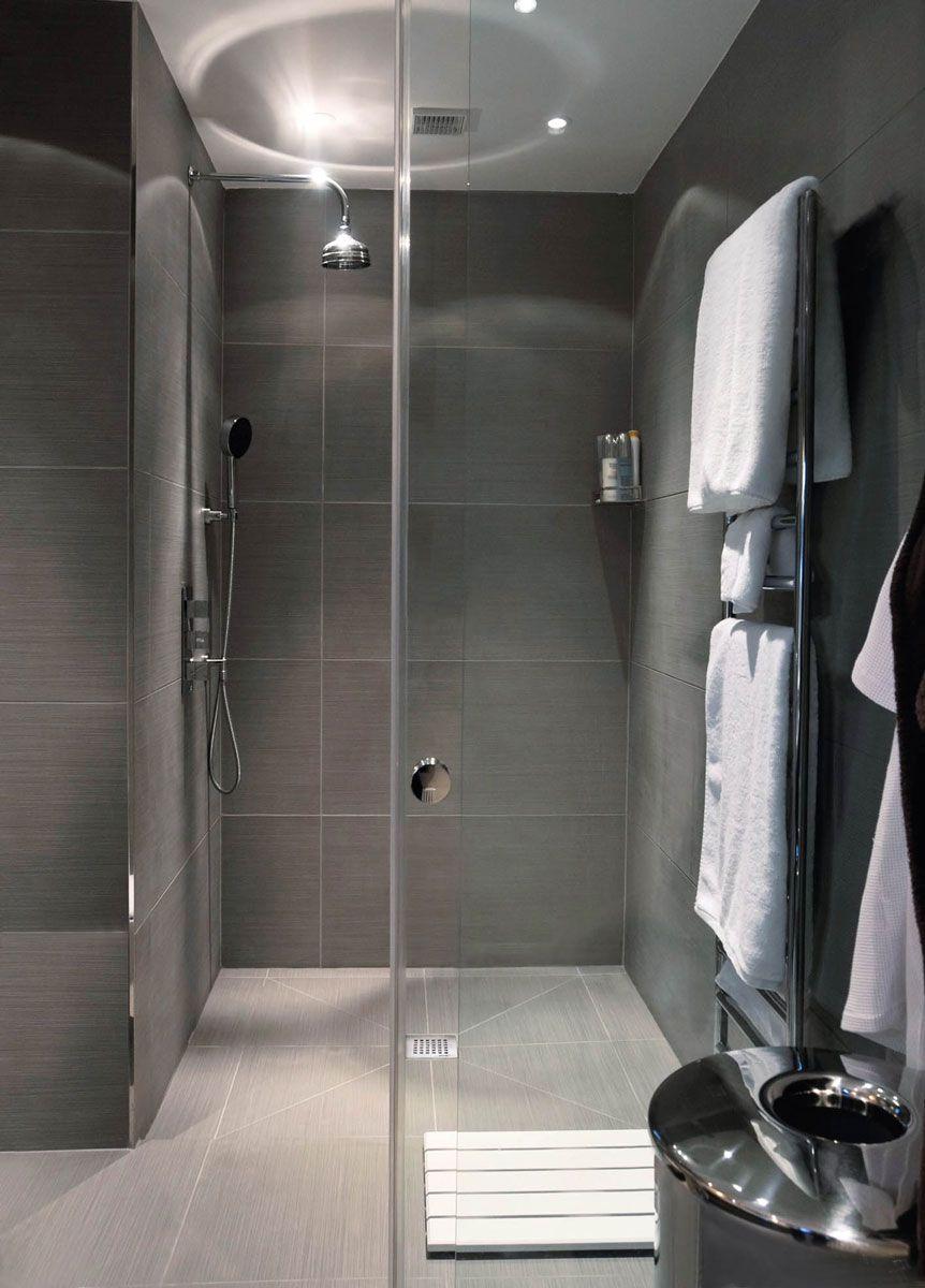 douche italienne receveur plain pied fundo primo espace aubade salle de bains pinterest. Black Bedroom Furniture Sets. Home Design Ideas