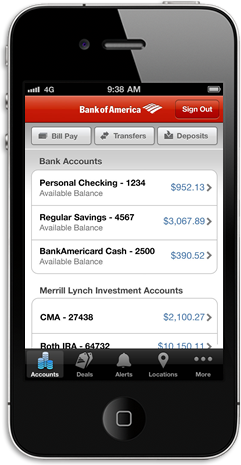 Mobile Banking From Bank Of America Online Banking Banking App Mobile Payments