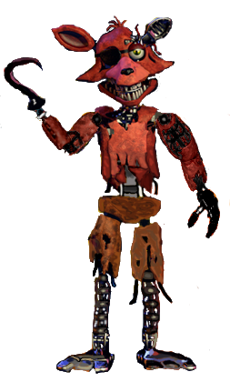 withered foxy (con imágenes) | Fnaf dibujos