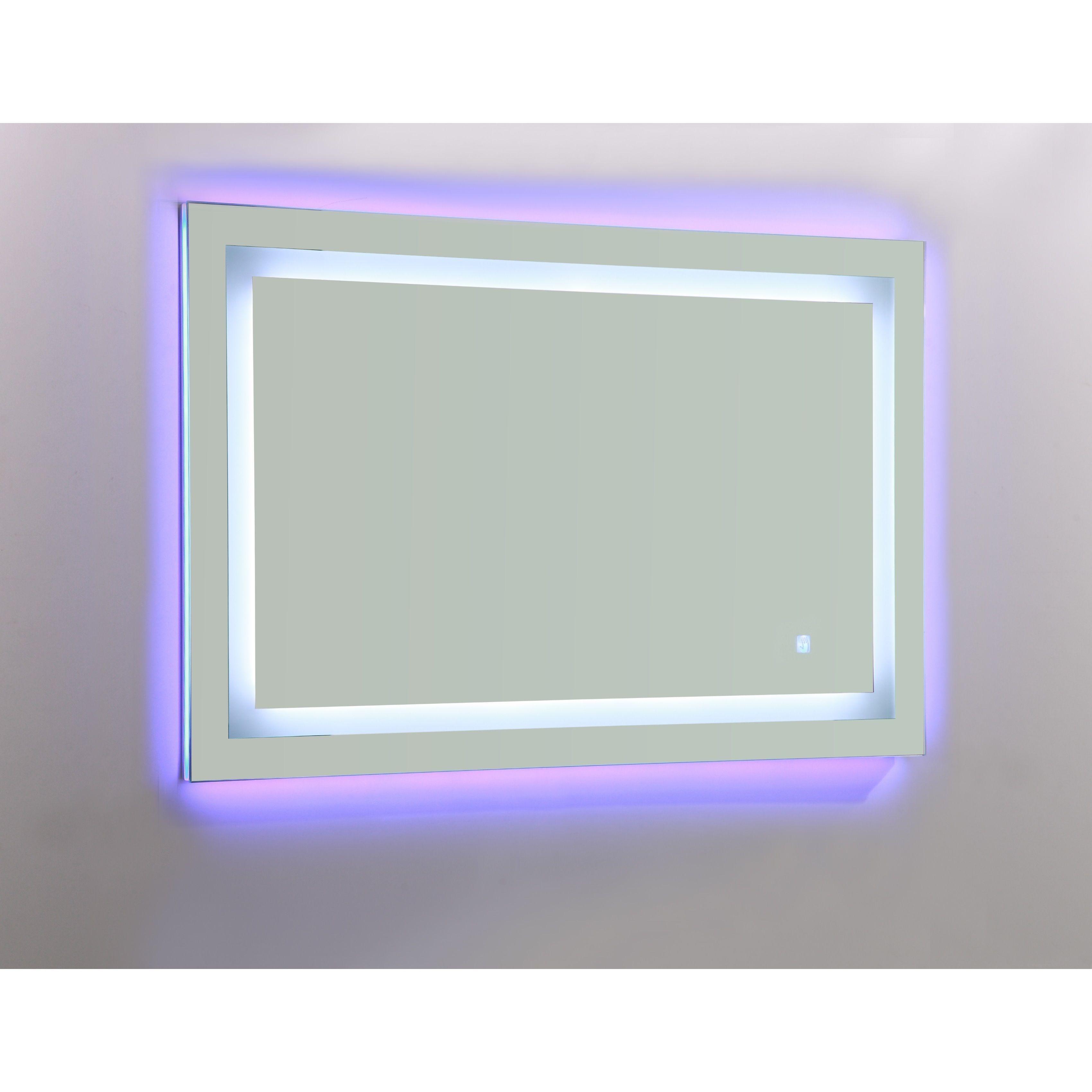 Vanity Art 39 Inch Led Lighted Illuminated Bathroom Vanity Wall