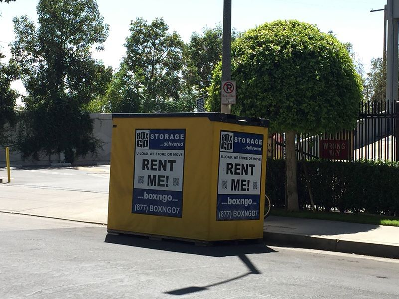 Box N Go Self Storage Studio City Containers Are Delivered Directly To You  Where You Need