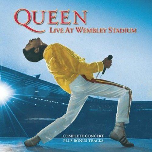 Queen - Live At Wembley Stadium [Cd] Rmst
