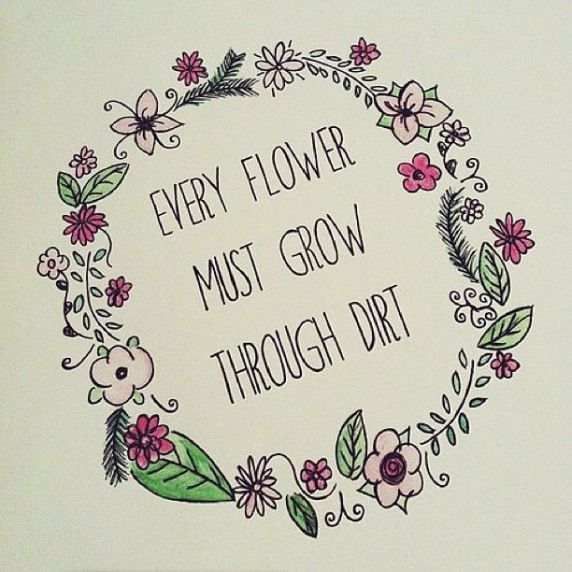 flower background tumblr with quotes - Google Search #drawing #drawing #quotes