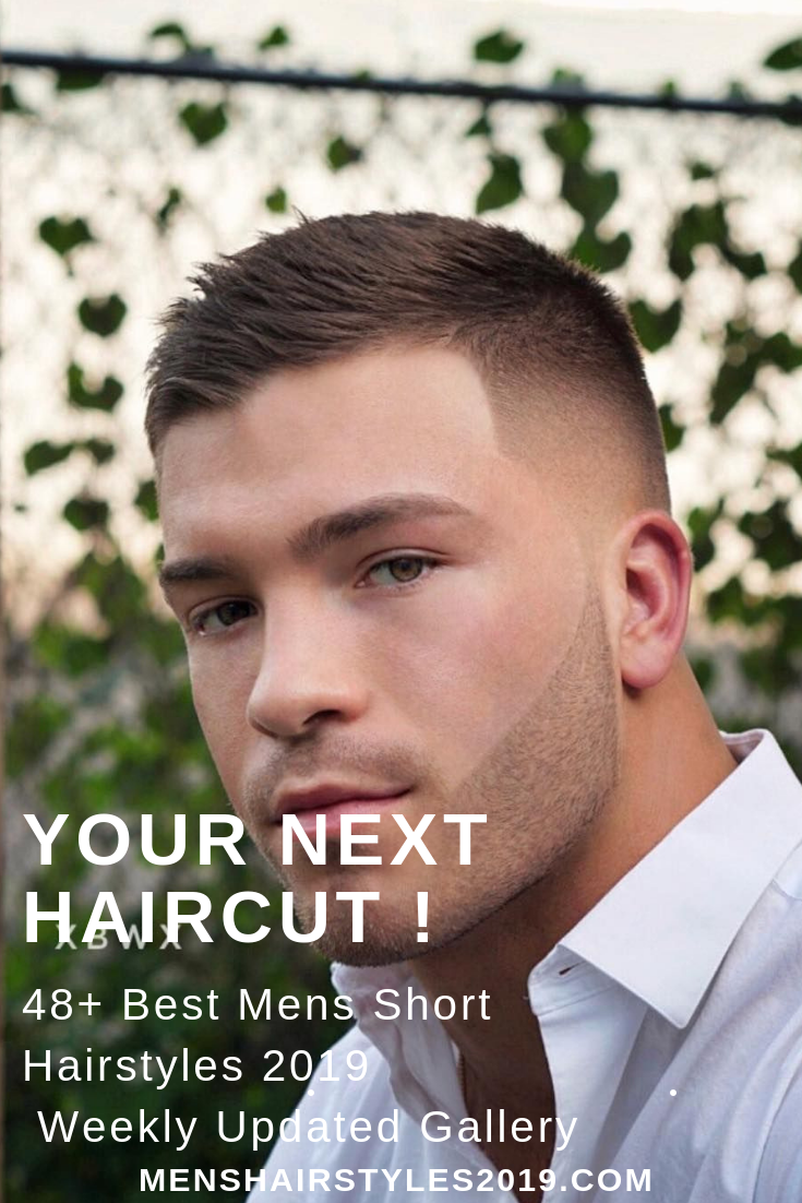 48+ best mens short hairstyles 2019 + variations gallery, updated