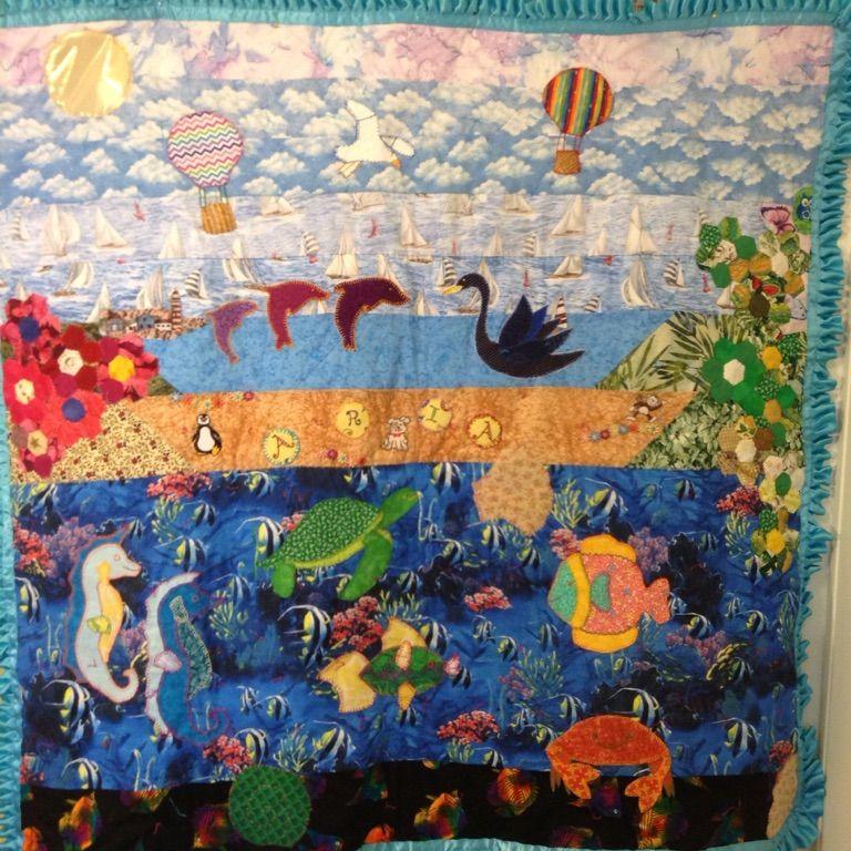 Aria's (my little niece) quilt