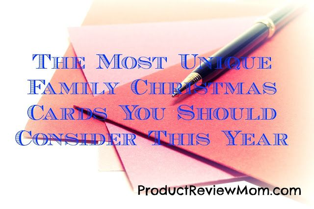 The Most Unique Family Christmas Cards You Should Consider This Year