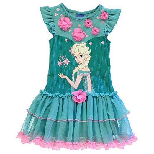 Character Kinder Maedchen Kleid Aermellos Rundhals Motiv Ra Ra Rock Frozen Elsa 11 Kleidung Fur Kleine Madchen Mode Fur Kleine Madchen Kinderbekleidung Madchen