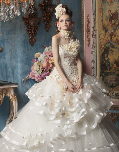 Wow Estilo Glamour Fairytale Gown Fashion Beautiful Wedding Gowns Dresses