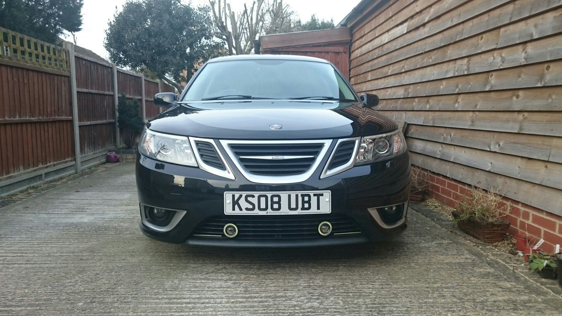 Saab 9 3 Aero Ttid Hirsch Tuned With Additional Led Lights Fitted The Replacement For The 9 5 Saab 9 3 Aero Saab Saab 9 3