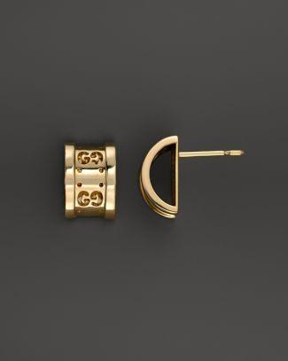 dafa84aa902 18K Yellow Gold Icon Twirl Earrings