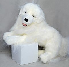 Amadeus Large Plush Great Pyrenees Toy Toy Great Pyrenees Also