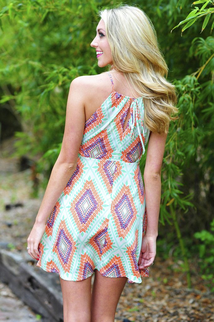 Diamond In The Rough Dress: Multi