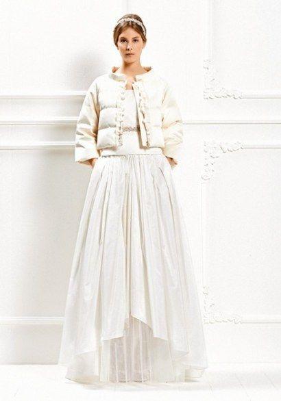 f060882bd49f Max Mara abito con piumino per nozze in inverno  -)