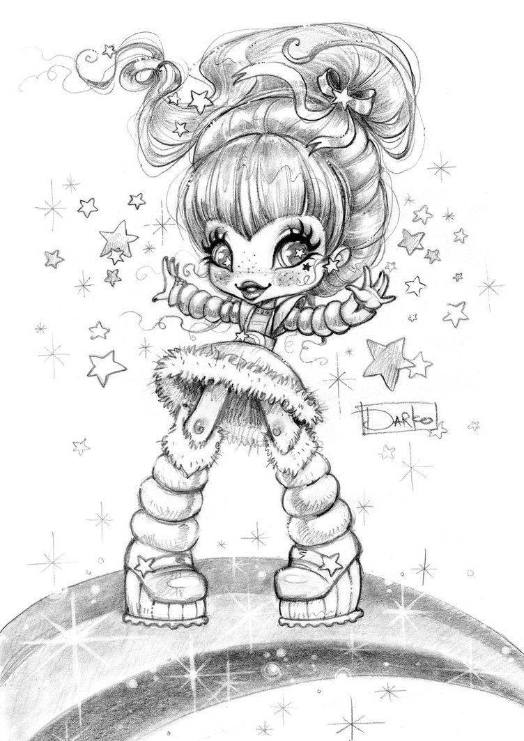 Rainbow Brite By Darkodordevic Rainbow Brite Coloring Books Colorful Pictures