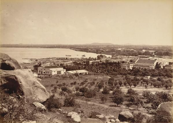 HussainSagar Lake in 1880s   In the news   Hyderabad, India