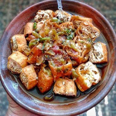 Tahu Gejrot Resep Makanan Resep Makanan Sehat Makanan