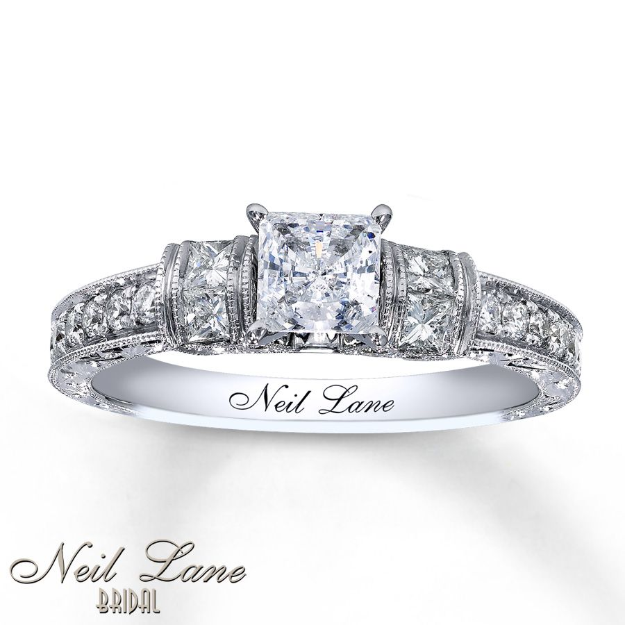 Pin by hailey bizzell on shiny pinterest neil lane neil lane love my ring feeling spoiled d neil lane bridal ring 1 ct tw diamonds white gold junglespirit Image collections