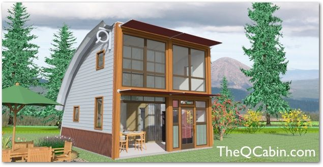 Affordable+House+Kits | Cabins Offers Quality Affordable Sustainable Small  House Solutions