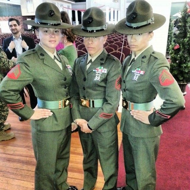 Recruiting Station Springfield Female Pool Function July 2014