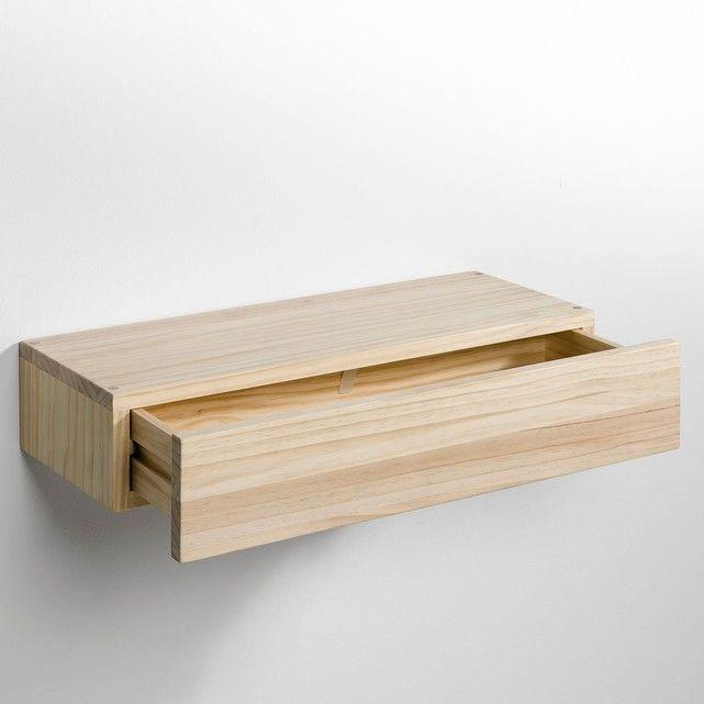 A jouer seul ou en superposition, cette étagère-tiroir se fixe