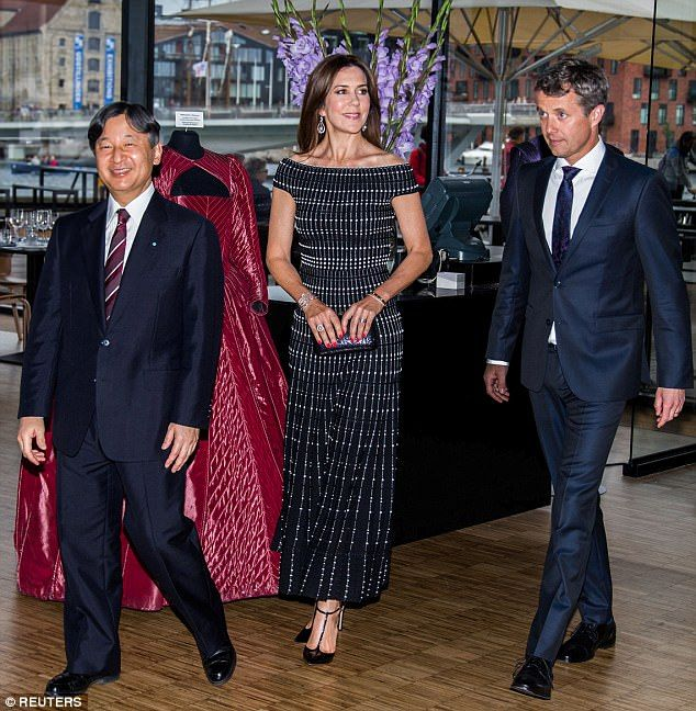 Crown Princess Mary and Prince Frederik of Denmark have had a busy few days hosting Japan's Crown Prince Naruhito