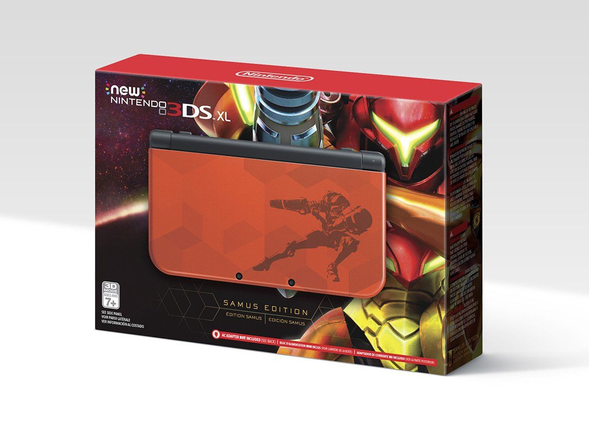 A Metroid-themed New Nintendo 3DS XL coming soon.